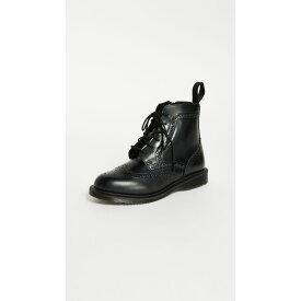 ドクターマーチン Dr. Martens レディース シューズ・靴 ブーツ【Delphine Brogue Boots】Black