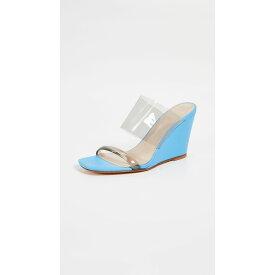 マリアム ナッシアー ザデー Maryam Nassir Zadeh レディース シューズ・靴 サンダル・ミュール【Olympia Wedges】Electric Blue