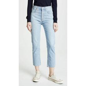 シチズン オブ ヒューマニティ Citizens of Humanity レディース ボトムス・パンツ ジーンズ・デニム【Charlotte Crop High Rise Straight Jeans】Laguna Stripe