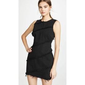アレキサンダー ワン Denim x Alexander Wang レディース ワンピース・ドレス ワンピース【Diagonal Seamed Dress】Black