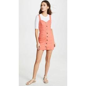 ミンクピンク MINKPINK レディース ワンピース・ドレス ワンピース【Chasing Sunrise Denim Dress】Coral