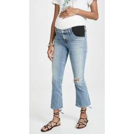 シチズン オブ ヒューマニティ Citizens of Humanity レディース ボトムス・パンツ ジーンズ・デニム【Maternity Mid-rise Demy Cropped Flare Jeans】Transcend