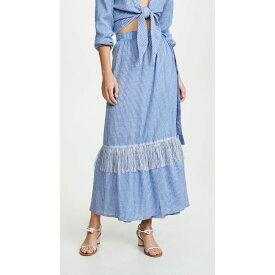 レムレム Lemlem レディース 水着・ビーチウェア ビーチウェア【Zinab Wrap Skirt】Cornflower Blue