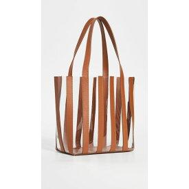 ロフラーランドール Loeffler Randall レディース バッグ トートバッグ【Marlena Pieced Tote Bag】Cognac/Clear