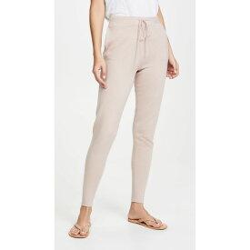 ルカシャ Le Kasha レディース ボトムス・パンツ スウェット・ジャージ【Jogging Side Pocket Cashmere Pants】Dusty Pink