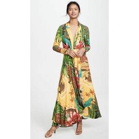 ファーム FARM Rio レディース ワンピース・ドレス ワンピース【Tropical Dreams V Neck Maxi Dress】Tropical Dreams