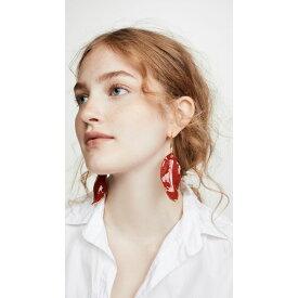 マルニ Marni レディース ジュエリー・アクセサリー イヤリング・ピアス【Metallic Earrings】Red