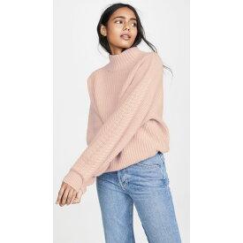 ルカシャ Le Kasha レディース トップス ニット・セーター【Rennes Oversized Cable Knit Cashmere Sweater】Dusty Pink