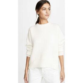 ルカシャ Le Kasha レディース トップス ニット・セーター【Crew Neck Cashmere Sweater】White