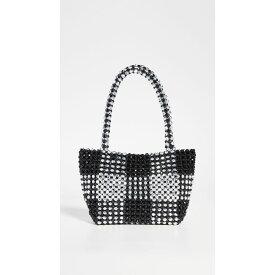 ロフラーランドール Loeffler Randall レディース バッグ トートバッグ【Mini Beaded Tote Bag】Black/Silver