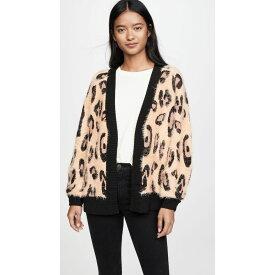 ミンクピンク MINKPINK レディース カーディガン トップス【Fluffy Leopard Cardigan】Leopard