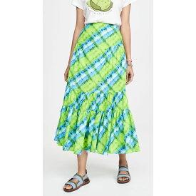 バレンシアガ Valencia & Vine レディース ひざ丈スカート スカート【Tie Dye Skirt】Green Tie Dye