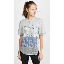 アディダス adidas by Stella McCartney レディース Tシャツ ロゴTシャツ トップス【Logo Tee】Medium Grey Heather