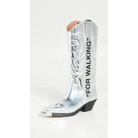 オフホワイト Off-White レディース ブーツ カウボーイブーツ シューズ・靴【for walking cowboy boots】Crystal/Black