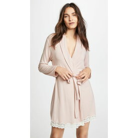 エバージェイ Eberjey レディース ガウン・バスローブ インナー・下着【Lady Godiva Robe】Pink Clay/Off White