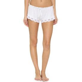 エバージェイ Eberjey レディース パジャマ・ボトムのみ インナー・下着【India Lace Shortie】White