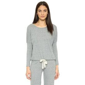 エバージェイ Eberjey レディース パジャマ・トップのみ インナー・下着【Heather Slouchy Pajama Top】Grey Heather