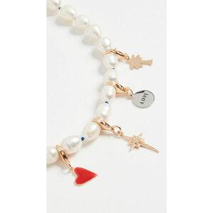 メゾンアイレム Maison Irem レディース ネックレス チャーム ジュエリー・アクセサリー【Pearl Charm Necklace Pixie】Charm