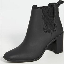 ジェフリー キャンベル Jeffrey Campbell レディース レインシューズ・長靴 ブーティー シューズ・靴【Hurricane Rain Booties】Black Matte