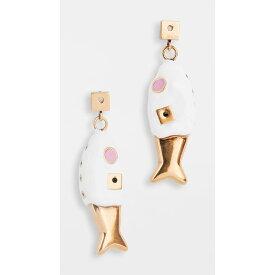 マルニ Marni レディース イヤリング・ピアス ジュエリー・アクセサリー【metallic earrings】Lily White