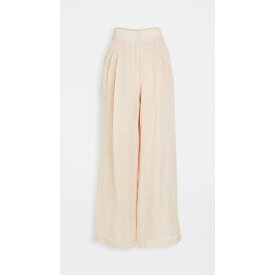 ルカシャ Le Kasha レディース ボトムス・パンツ 【Sohag Organic Light Linen Trousers】Light Pink