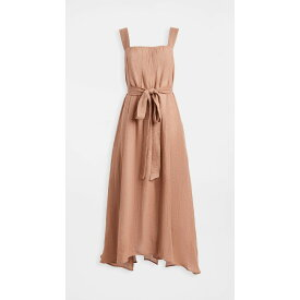 ルカシャ Le Kasha レディース ワンピース ワンピース・ドレス【Assiout Linen Gauze Dress】Light Pink