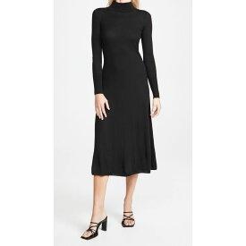 ルカシャ Le Kasha レディース ワンピース ワンピース・ドレス【Noto Cashmere Dress】Black
