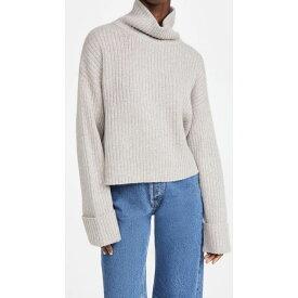 ルカシャ Le Kasha レディース ニット・セーター トップス【Cashmere Galway Sweater】Light Brown