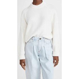 ルカシャ Le Kasha レディース ニット・セーター トップス【Macao Cashmere Sweater】White