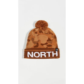 ザ ノースフェイス The North Face レディース 帽子 【Ski Tuke Hat】Cargo Khaki Tonal Duck Camo