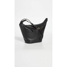 トリー バーチ Tory Burch レディース バッグ バケットバッグ【Mcgraw Small Zip Bucket Bag】Black