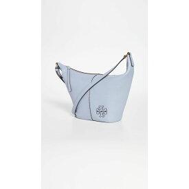 トリー バーチ Tory Burch レディース バッグ バケットバッグ【Mcgraw Small Zip Bucket Bag】Cloud Blue