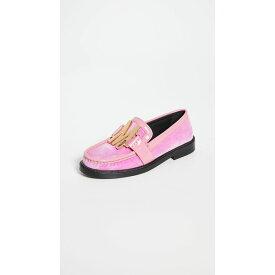 モスキーノ Moschino レディース ローファー・オックスフォード シューズ・靴【M Logo Loafers】Pink