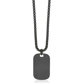 ノーススカル Northskull メンズ ネックレス ジュエリー・アクセサリー【Gunmetal Plated Steel ID Tag Necklace】Gunmetal