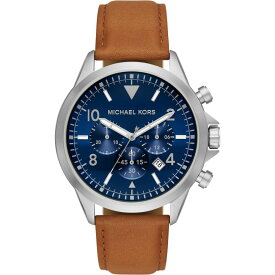 マイケル コース Michael Kors メンズ 腕時計 【Gage Stainless Steel Watch】Silver