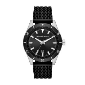 マイケル コース Michael Kors メンズ 腕時計 【Layton Stainless Steel Watch】Silver