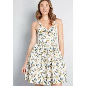ロイヤルモンク Royal Monk レディース ワンピース サンドレス ワンピース・ドレス【Outdoor Allure Cotton Sundress】white floral