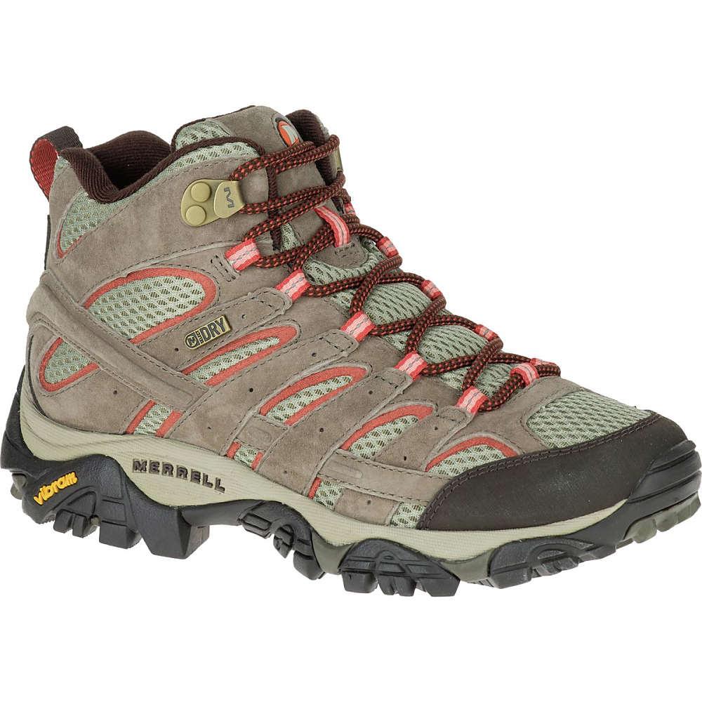 メレル Merrell レディース ハイキング シューズ・靴【Moab 2 Mid Waterproof Hiking Boot】Bungee Cord