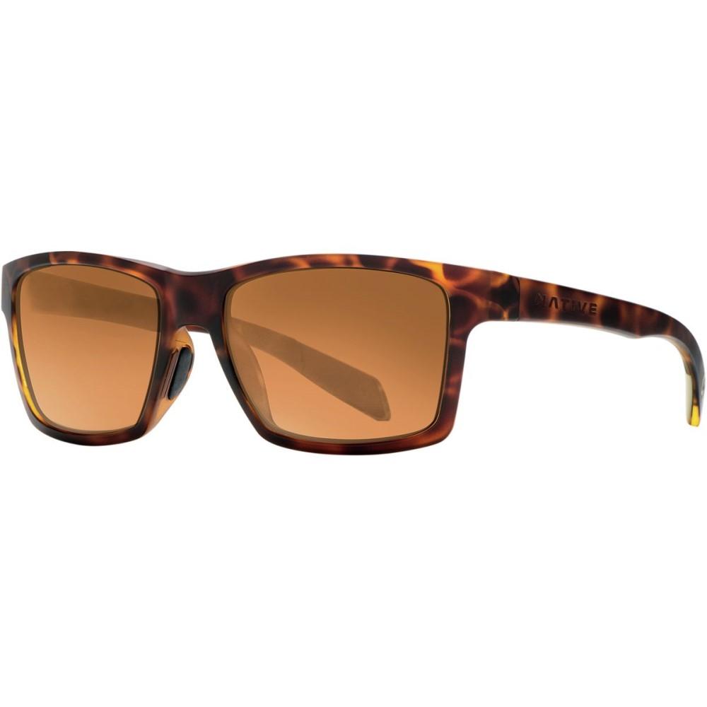 ネイティブアイウェア Native Eyewear レディース アクセサリー メガネ・サングラス【Flatirons Sunglasses - Polarized】Tigers Eye/Bronze Reflex