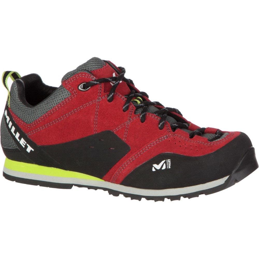 ミレー Millet メンズ ハイキング シューズ・靴【Rockway Approach Shoes】Red/Acid Green
