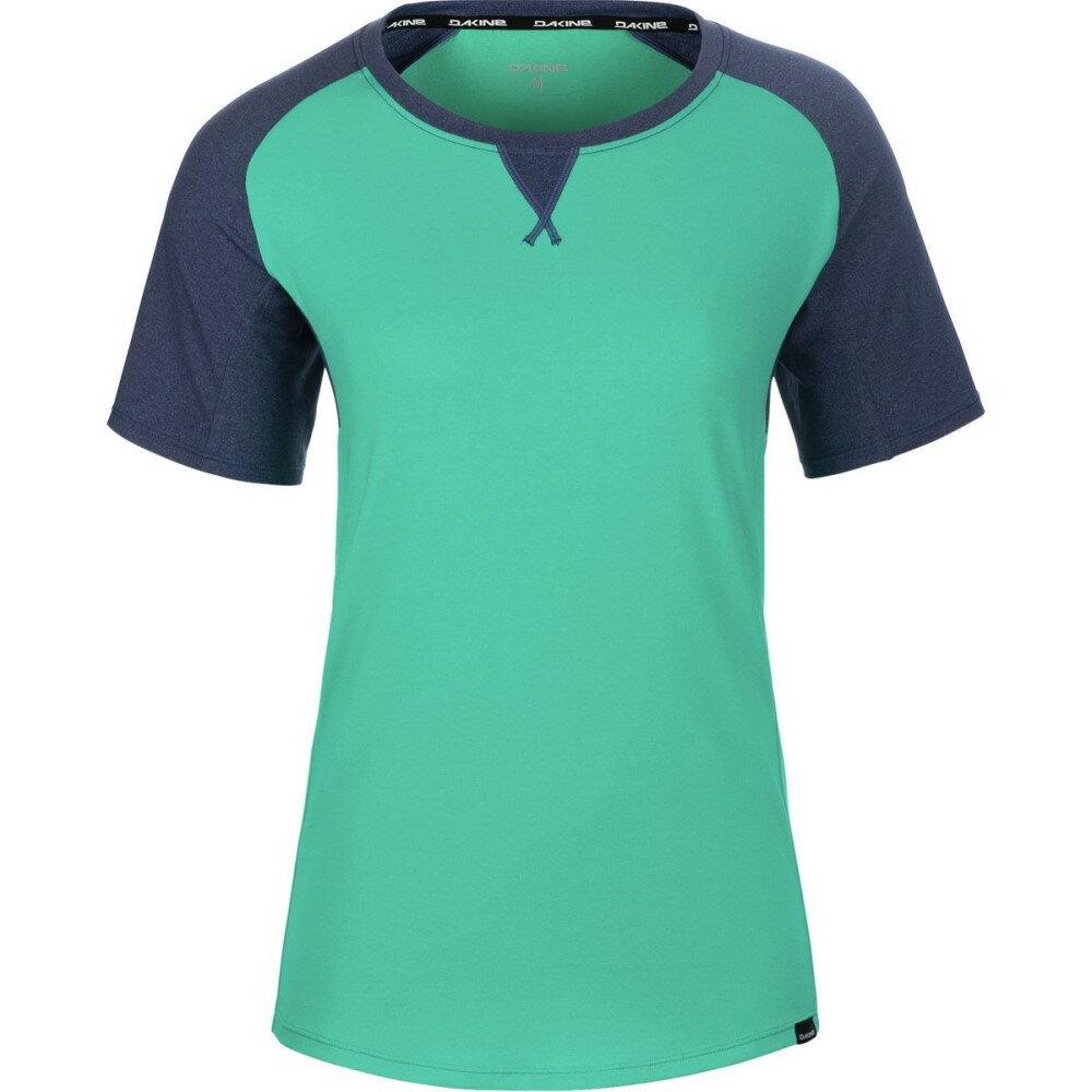 ダカイン DAKINE レディース サイクリング ウェア【Xena Jersey】Aqua Green/Crown Blue