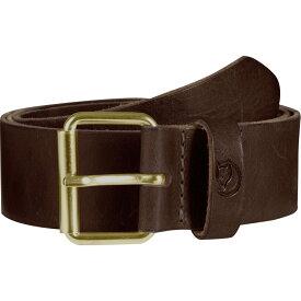 フェールラーベン Fjallraven メンズ アクセサリー ベルト【Singi 4cm Belt】Leather Brown