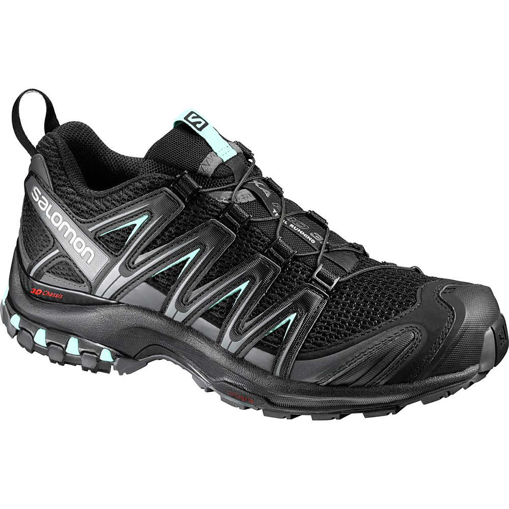 サロモン レディース ランニング・ウォーキング シューズ・靴【XA Pro 3D Running Shoe】Black/Magnet/Fair Aqua