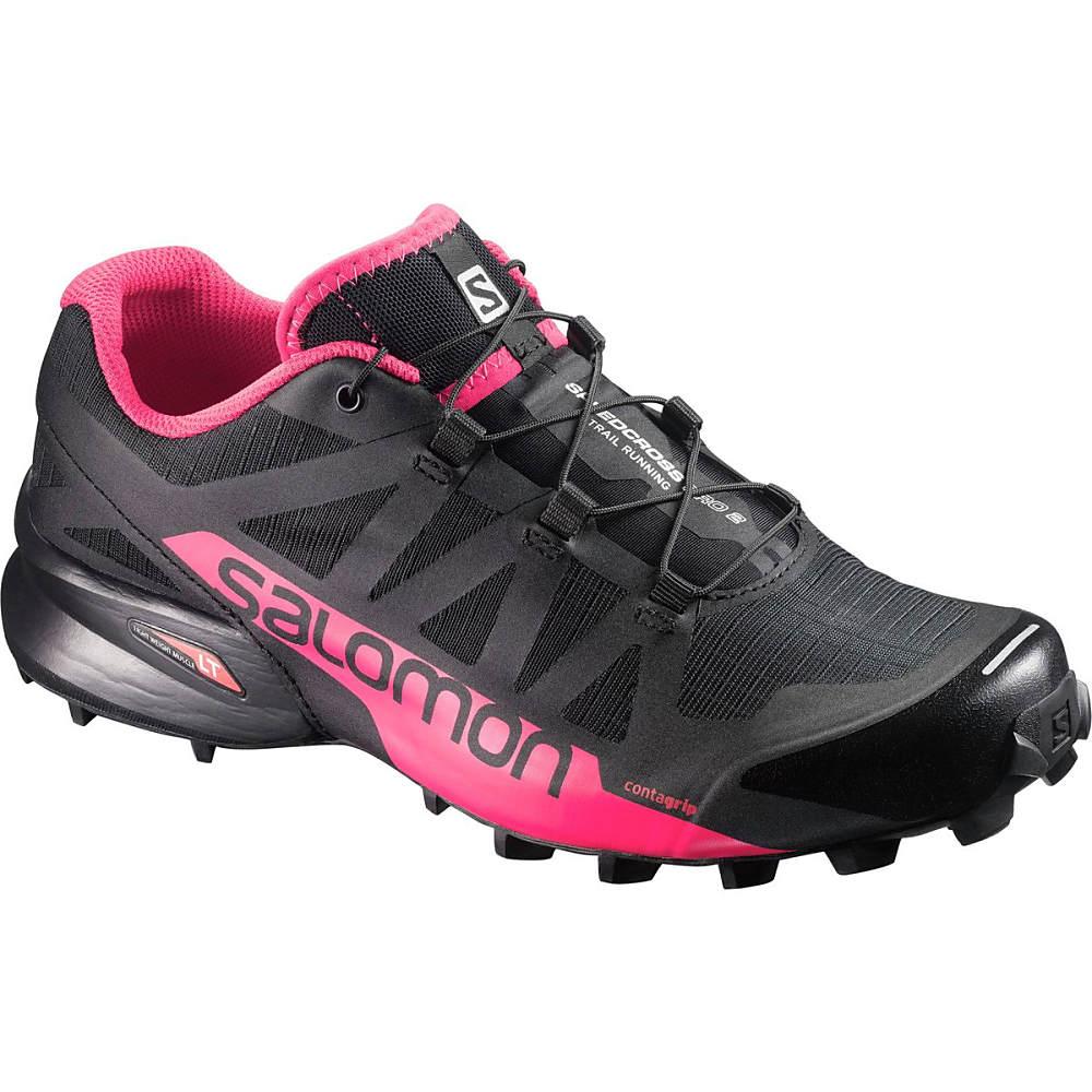 サロモン レディース ランニング・ウォーキング シューズ・靴【Speedcross Pro 2 Trail Running Shoe】Black/Virtual Pink/Black