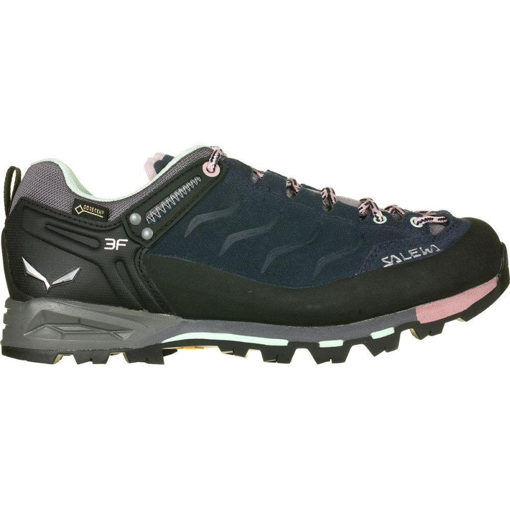 サレワ レディース ハイキング・登山 シューズ・靴【Mountain Trainer GTX Hiking Shoe】Premium Navy/Subtle Green