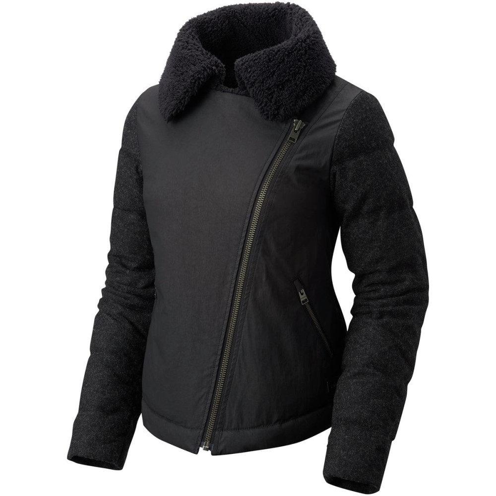 ソレル レディース アウター ダウンジャケット【Tivoli Moto Down Jacket】Black