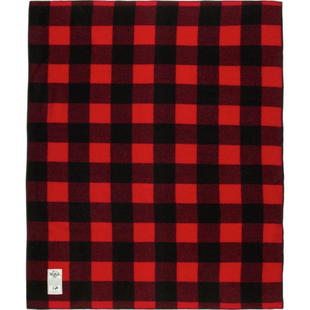 ウールリッチ レディース 雑貨【Sherpa Rough Rider Blanket】Red