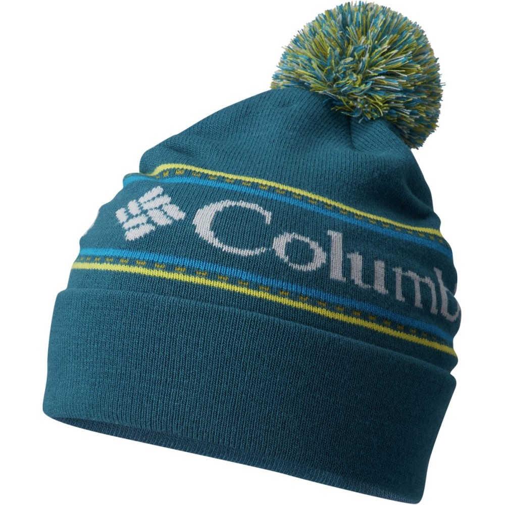 コロンビア レディース 帽子 ニット【CSC Logo Beanie】Phoenix Blue
