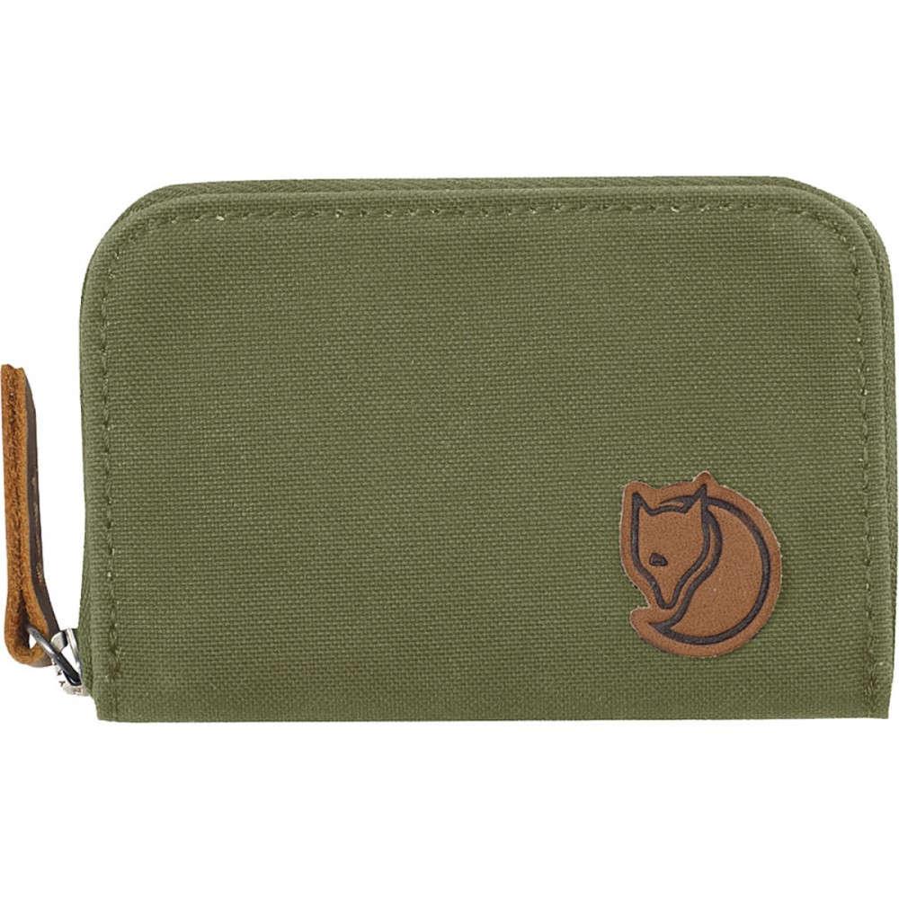 フェールラーベン レディース 財布【Zip Card Holder Wallet】Green