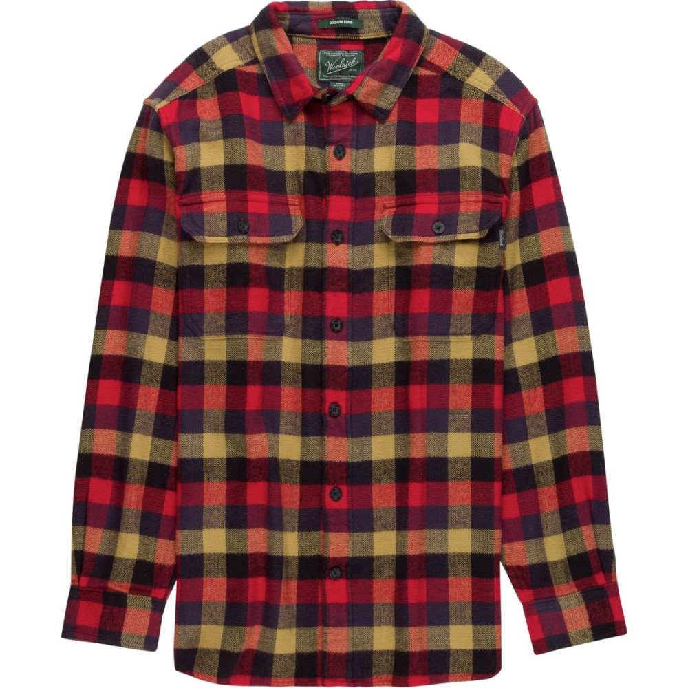 ウールリッチ メンズ トップス シャツ【Oxbow Bend Flannel Shirts】Red Multi